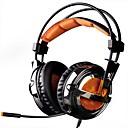 baratos Adaptadores de Rede-SADES A6 Bandana Com Fio Fones Dinâmico Plástico Games Fone de ouvido Com Microfone Fone de ouvido