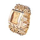 hesapli Erkek Saatleri-Erkek Elbise Saat Japonca Quartz 30 m Gündelik Saatler Alaşım Bant Analog Lüks Altın Rengi - Altın Beyaz İki yıl Pil Ömrü