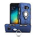tanie Etui / Pokrowce do Samsunga Galaxy S-Kılıf Na Samsung Galaxy A5(2017) Odporne na wstrząsy Uchwyt pierścieniowy Obrót 360° Czarne etui Solid Color Twarde PC na A5 (2017)