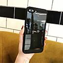 hesapli iPhone Kılıfları-Pouzdro Uyumluluk Apple iPhone X iPhone 7 Plus Temalı Arka Kapak Kelime / Cümle Yumuşak TPU için iPhone X iPhone 8 Plus iPhone 8 iPhone 7