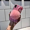 お買い得  iPhone 用ケース-ケース 用途 Apple iPhone X / iPhone 7 Plus パターン バックカバー フラミンゴ ソフト 繊維 のために iPhone X / iPhone 8 Plus / iPhone 8