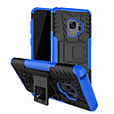 cheap Galaxy S Series Cases / Covers-Case For Samsung Galaxy S9 Plus / S9 Shockproof / with Stand Back Cover Lines / Waves Hard PC for S9 / S9 Plus / S8 Plus