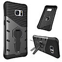 cheap Galaxy S Series Cases / Covers-Case For Samsung Galaxy S7 Shockproof / with Stand / 360° Rotation Back Cover Armor Hard PC for S7