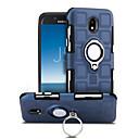 رخيصةأون حافظات / جرابات هواتف جالكسي J-غطاء من أجل Samsung Galaxy J5 (2017) ضد الصدمات / حامل الخاتم / دوران360ْ غطاء خلفي لون سادة قاسي الكمبيوتر الشخصي إلى J5 (2017)
