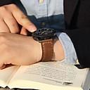 Χαμηλού Κόστους Λουράκια καρπού για Samsung-Παρακολουθήστε Band για Gear S3 Frontier Gear S3 Classic Samsung Galaxy Κλασικό Κούμπωμα Δέρμα Λουράκι Καρπού
