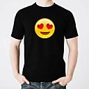 cheap LED T-shirts-LED T-shirts Glow Pure Cotton LED / Casual 2×AA