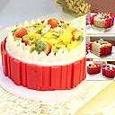 저렴한 주방 도구-Bakeware 도구 실리콘 멀티기능 일상용 / 케이크 직사각형 케이크 주형 4 개