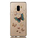 Χαμηλού Κόστους Θήκες / Καλύμματα Galaxy A Series-tok Για Samsung Galaxy A8 2018 A8 Plus 2018 IMD Με σχέδια Πίσω Κάλυμμα Πεταλούδα Λάμψη γκλίτερ Μαλακή TPU για A3 (2017) A5 (2017) A8+