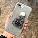 저렴한 아이폰 케이스-케이스 제품 Apple iPhone X / iPhone 7 Plus 패턴 뒷면 커버 한 색상 하드 PC 용 iPhone X / iPhone 8 Plus / iPhone 8