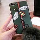 baratos Capinhas para iPhone-Capinha Para Apple iPhone 7 Plus / iPhone 6s Estampada Capa traseira Desenho Animado Macia Silicone para iPhone 8 Plus / iPhone 8 / iPhone 7 Plus