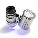 hesapli Dürbünler-60X10 Mikroskop Portatif Kamp & Yürüyüş Günlük Kullanım Plastikler Metal