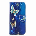 cheap Galaxy A Series Cases / Covers-Case For Samsung Galaxy A8 Plus 2018 / A8 2018 Wallet / Card Holder / with Stand Full Body Cases Butterfly Hard PU Leather for A3(2017) / A5(2017) / A8 2018