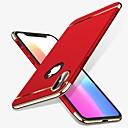 baratos Capinhas para iPhone-Capinha Para Apple iPhone X / iPhone 8 Antichoque / Galvanizado Capa traseira Sólido Rígida PC para iPhone X / iPhone 8 Plus / iPhone 8