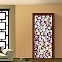billige PS4-tilbehør-Wallstickers Dekorative Mur Klistermærker Dørklister - 3D mur klistermærker Landskab 3D Kan genpositioneres Kan fjernes