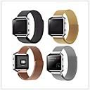 Недорогие Ремешки для спортивных часов-Ремешок для часов для Fitbit Blaze Fitbit Миланский ремешок Металл Повязка на запястье
