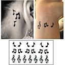 baratos Suportes para Celulares-10 pcs Tatuagem Adesiva Tatuagens temporárias Série dos desenhos animados Arte para o Corpo Braço