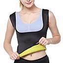 ieftine Machiaj & Îngrijire Unghii-Body Shaper Hot Sweat antrenament Tank Top Slimming Vest Îmbrăcăminte modelare corporală neopren Fără fermoar Pierdere în greutate Tummy Fat Burner Trainer de talie Yoga Fitness Gimnastică antrenament