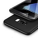 tanie Etui / Pokrowce do Samsunga Galaxy S-Kılıf Na Samsung Galaxy S8 Plus S8 Ultra cienkie Szron Czarne etui Solid Color Miękkie TPU na S8 Plus S8