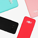 cheap Galaxy S Series Cases / Covers-Case For Samsung Galaxy S9 Plus / S9 Frosted Back Cover Solid Colored Soft TPU for S9 / S9 Plus / S8 Plus