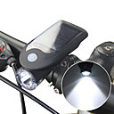 cheap Bike Lights-LED Bike Light Front Bike Light Headlight Cycling Waterproof Multiple Modes Li-ion 240 lm Solar Powered USB Powered Camping / Hiking / Caving Cycling / Bike / ABS