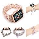 ieftine Mărgele & Mărgele De Ornat-Uita-Band pentru Apple Watch Series 4/3/2/1 Apple Design Bijuterie Ceramică Curea de Încheietură