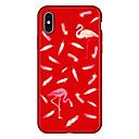 رخيصةأون وسائد-غطاء من أجل Apple iPhone X / iPhone 8 Plus / iPhone 8 نموذج غطاء خلفي البشروس طائر مائي / حيوان / كارتون ناعم TPU