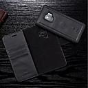 hesapli Kolyeler-Pouzdro Uyumluluk Samsung Galaxy S9 Plus / S9 Cüzdan / Kart Tutucu / Flip Tam Kaplama Kılıf Solid Sert PU Deri için S9 / S9 Plus / S8 Plus