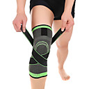 cheap Sports Support & Protective Gear-Knee Brace for Basketball / Running Unisex Moisture Wicking / Breathable / Stretchy Sports & Outdoor Lycra Spandex / Nylon 1 pc Green