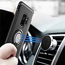 hesapli Dekorasyon Etiketleri-Pouzdro Uyumluluk Samsung Galaxy S9 S9 Plus Yüzüklü Tutacak Arka Kapak Zırh Sert PC için S9 Plus S9 S8 Plus S8 S7 edge S7