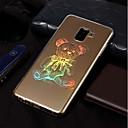 رخيصةأون حافظات / جرابات هواتف جالكسي A-غطاء من أجل Samsung Galaxy A3 (2017) / A5 (2017) / A8 2018 تصفيح / نموذج غطاء خلفي حيوان ناعم TPU