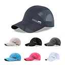 ieftine Pălării, Șepci & Bandane-Καπέλο πεζοπορίας Șapcă pentru bile Pălării Cremă Cu Protecție Solară Rezistent la UV Respirabil Uscare rapidă Mată Plasă Vară pentru Bărbați Pentru femei Drumeție Alpinism Voiaj Gri Închis