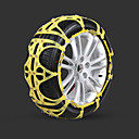 cheap iPhone Cases-2pcs Car Snow Chains Common Buckle Type For Car Wheel For universal All Models All years
