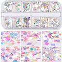 ieftine Machiaj & Îngrijire Unghii-1 buc Strălucire Unghii Art Forms Pentru Drăguț nail art pedichiura si manichiura Glitters / Paiete Zilnic