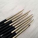 abordables Maquillage & Soin des Ongles-9pcs Brosses à ongles Peinture Manucure Manucure pédicure Artistique / rétro Soirée / Quotidien
