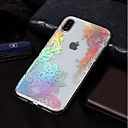 cheap iPhone Cases-Case For Apple iPhone X / iPhone 8 IMD / Pattern Back Cover Lace Printing Soft TPU for iPhone XS / iPhone XR / iPhone XS Max