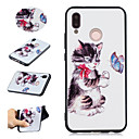 cheap Bathroom Gadgets-Case For Huawei P20 Pro / P20 lite Pattern Back Cover Cat / Butterfly Soft TPU for Huawei P20 / Huawei P20 Pro / Huawei P20 lite / P10 Lite