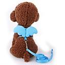 preiswerte Bekleidung & Accessoires für Hunde-Hunde / Katzen / Haustiere Geschirre / Leinen Walking / Regolabile / Einziehbar / Verstellbare Größe Solide / Schleife Nylon Grün / Blau