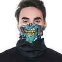 baratos Bússolas-Máscara Facial Todas as Estações Pavio Humido / Secagem Rápida / Respirabilidade Acampar e Caminhar / Ciclismo / Moto Unisexo Poliéster Estampado