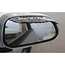 preiswerte Auto Dekoration-2pcs Auto Auto Regen Augenbrauen Geschäftlich Einfügen-Typ für Rückspiegel Für Universal Alle Modelle Alle Jahre
