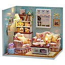 cheap Dollhouses & Accessories-Dollhouse Creative House Pieces Teenager Toy Gift