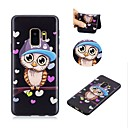 cheap Galaxy S Series Cases / Covers-Case For Samsung Galaxy S9 Ultra-thin / Adorable Back Cover Owl Soft TPU for S9