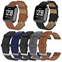 levne Shlédnout pásy pro Fitbit-Watch kapela pro Fitbit Versa Fitbit Klasická spona Pravá kůže Poutko na zápěstí