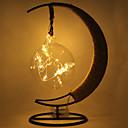 Недорогие Оригинальные LED лампы-hkv® теплый белый rgb фиолетовый синий светодиод ретро стиль шпагат медный круглый шар моделирование свет рождественский пейзаж энергосберегающая лампа закрытый железный ночной свет