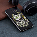preiswerte Galaxy S Serie Hüllen / Cover-Hülle Für Samsung Galaxy S9 Plus / S9 Muster Rückseite Totenkopf Motiv Hart PC für S9 / S9 Plus / S8 Plus