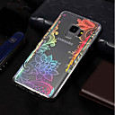 Χαμηλού Κόστους Θήκες / Καλύμματα Galaxy S Series-tok Για Samsung Galaxy S9 Plus / S9 Επιμεταλλωμένη / Με σχέδια Πίσω Κάλυμμα Lace Εκτύπωση Μαλακή TPU για S9 / S9 Plus / S8 Plus