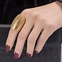 ieftine Inele-Pentru femei Geometric filigran Inel de declarație Placat Auriu femei Modă Dubai Inele la Modă Bijuterii Auriu Pentru Petrecere Cadou 7 / 8 / 9
