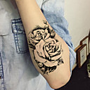 cheap Temporary Tattoos-5 pcs Tattoo Stickers Temporary Tattoos Flower Series Body Arts Arm