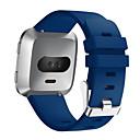 billige Tabletetuier-Urrem for Fitbit Versa Fitbit Moderne spænde Silikone Håndledsrem