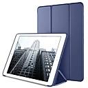 저렴한 아이패드 케이스 / 커버-케이스 제품 Apple iPad mini 4 / iPad Mini 3/2/1 스탠드 / 오리가미 / 마그네틱 전체 바디 케이스 솔리드 하드 PU 가죽 용 iPad Mini 3/2/1 / iPad Mini 4