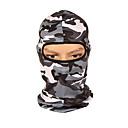 ieftine Cagule și măști pentru față-cagule Face Mask Verde Militar Gri Camuflaj Formator Cald Respirabilitate Camping & Drumeții Exerciții exterior Ciclism / Bicicletă Unisex Culoare Camuflaj Spandex / Strech / Ciclism montan